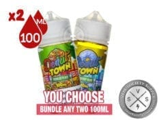 Donut Town Vape Juice Bundle 200ml (2X100)