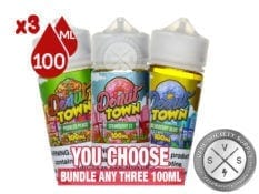 Down Town Vape Juice Bundle 300ml (3X100)