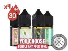 Gold Leaf Salt Eliquid Bundle 120ml (4x30ml)