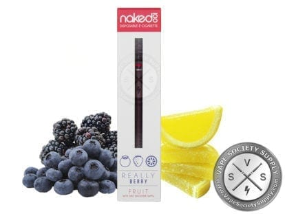 Naked 100 Disposable E-Cigarettes - Really Berry