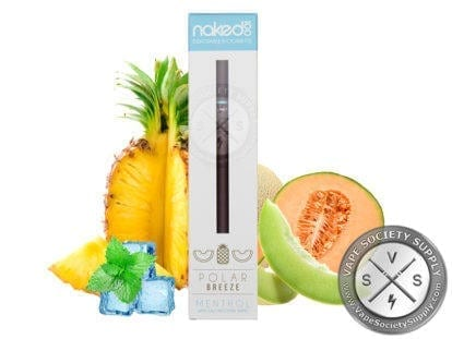 Naked 100 Disposable E-Cigarettes - Polar Breeze