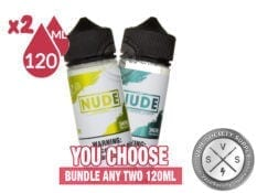 Nude Premium E-Juice Bundle 2x120ml