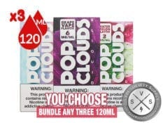 Pop Clouds E-Juice Bundle 360ml (3x120ml)