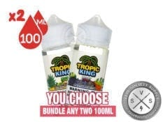 Tropic King E-Juice Bundle 200ml (2x100ml)