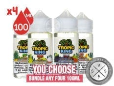 Tropic King E-Juice Bundle 400ml (4x100ml)