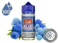 I Love Blue Raspberry by Mad Hatter 100ml