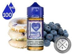 I Love Donuts Blueberry by Mad Hatter 100ml