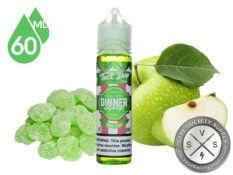 Tuck Shop Apple Sours Dinner Lady E-Liquids 60ml