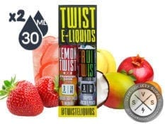 Twist mix sampler pack 2x30ml (60ml) 3mg