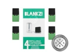 BLANKZ Refillable Cartridges (4 pcs)