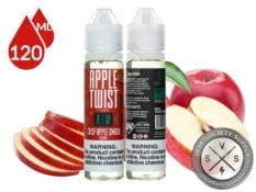 Crisp Apple Smash by Apple Twist E-Liquid 120ml