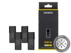 Voopoo Drag Nano Replacement Pods S-1 Cartridges